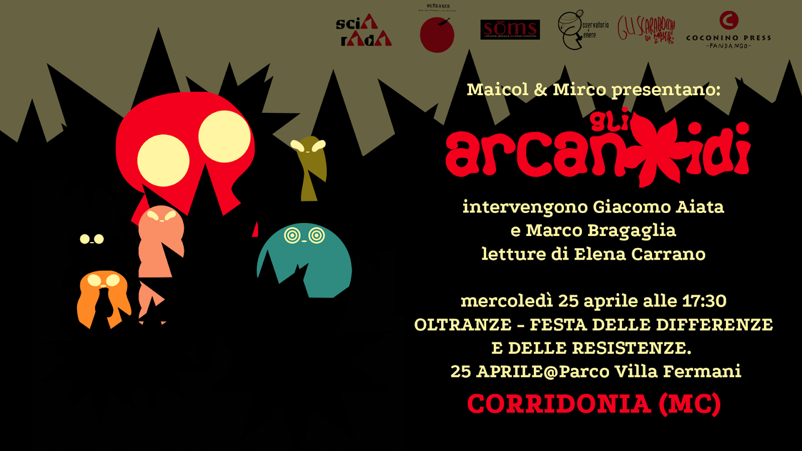 Gli Arcanoidi a Corridonia!