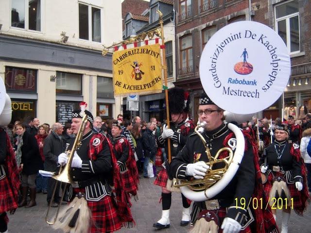 Orquesta en el Carnaval en Maastricht