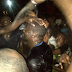 PHOTOS: Desmond Elliot Being Bathed With Water As He Celebrates Imminent Lagos House of Assembly Victory