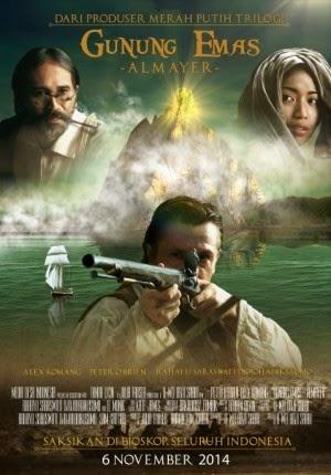 Film Gunung Emas Almayer 2014 di Bioskop