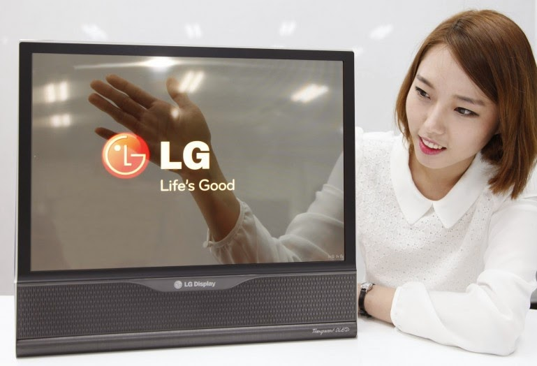 LG Display's transparent OLED panel boasts transmittance of 30 percent