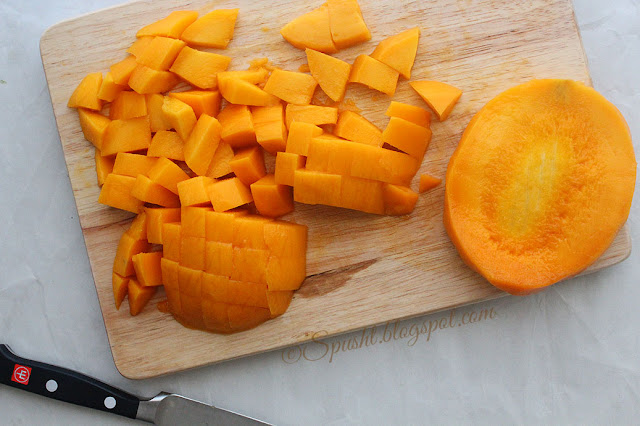 spusht | diced mangoes | how i cut a mango
