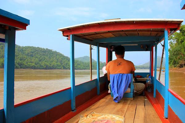 Boot nach Pak Ou Höhlen (Luang Prabang)