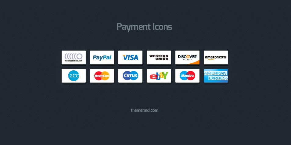 Payment Icons psd