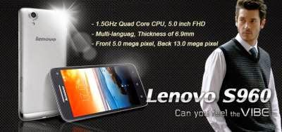 Lenovo S960 Install Vibe UI 2.0 with 70 Languages, Root and Google Applications 1439