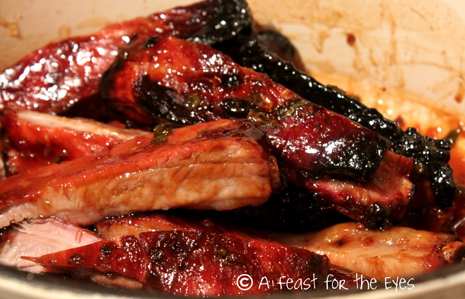 Feast for the Eyes: Honey Roasted Ribs