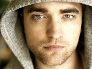 Robert Pattinson gorgeous eyes large