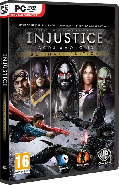 INJUSTICE Jogo Injustice Gods Among Us Ultimate Edition RELOADED PC (2013)