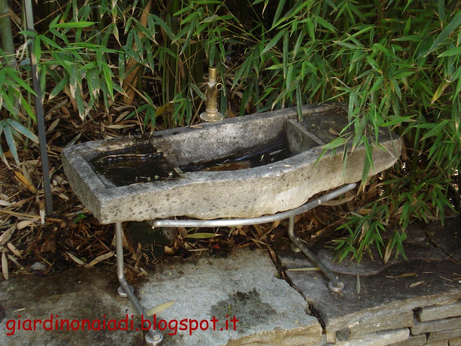 Il giardino delle naiadi quando l 39 acqua e 39 in movimento - Bambu in vaso acqua ...
