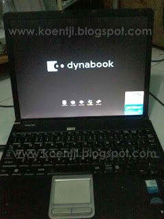 install windows di toshiba dynabook via lan