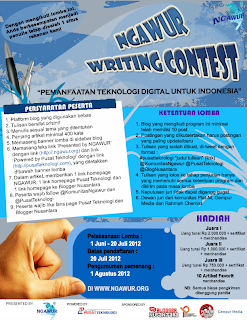 Ngawur Writing Contest dunialombaku.blogspot.com