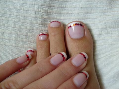 Beautiful And Sexy Nail Art What Do You Do When Calgel Nails Grow Out