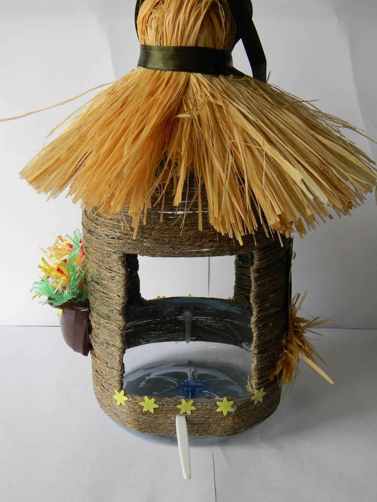 Как сделать крышу на кормушку для птиц