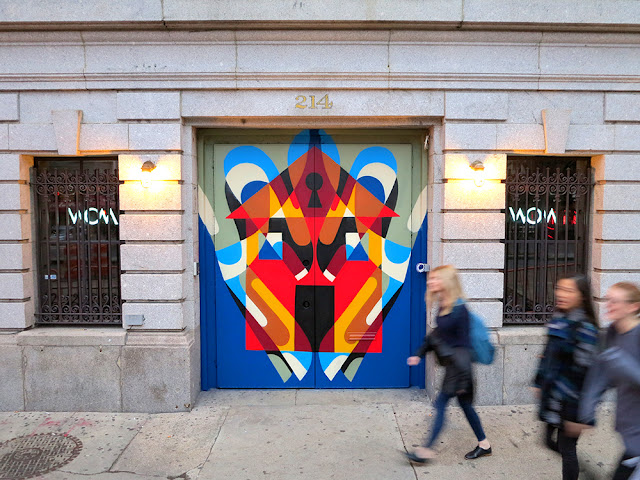 """Our friend REKA is currently in the Big Apple where he just finished working on a brand new piece entitled """"Home""""."""