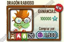 imagen de la formula del dragon rabioso