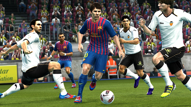 Messi in PES 2013 Game