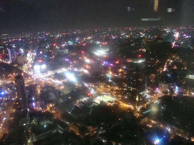 Ho Chi Minh city in night