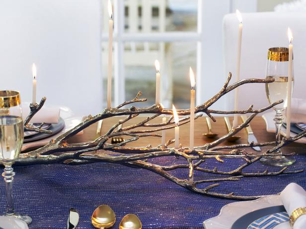 Haute Hanukkah Decorating Ideas by HGTV