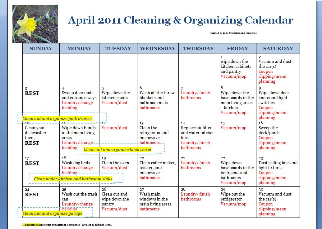 Calendar For Home Organization : Home cleaning and organizing grasscloth wallpaper