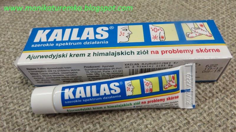 kailas - ajurwedyjska maść na problemy skórne