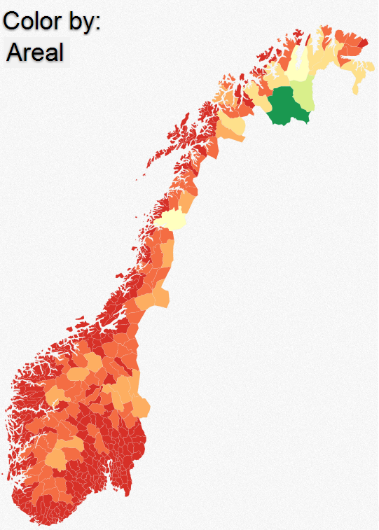 Norway In GeoJSON Visualization Musings Random On - Norway komune map