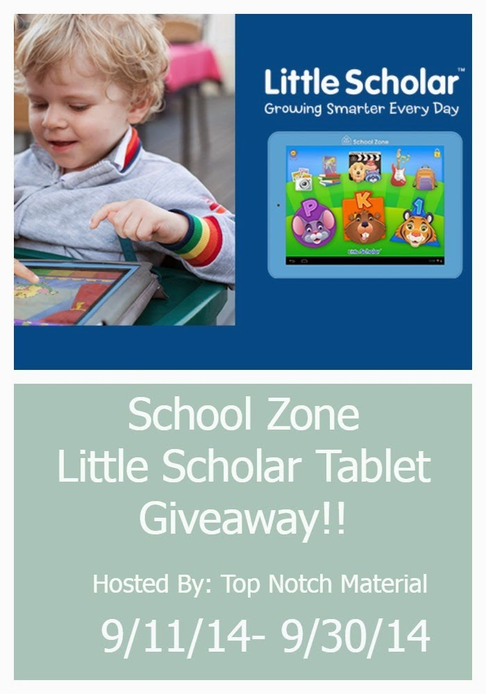 Little Scholars Tablet Giveaway