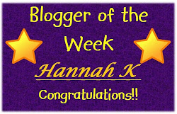 Blogger of the Week 3