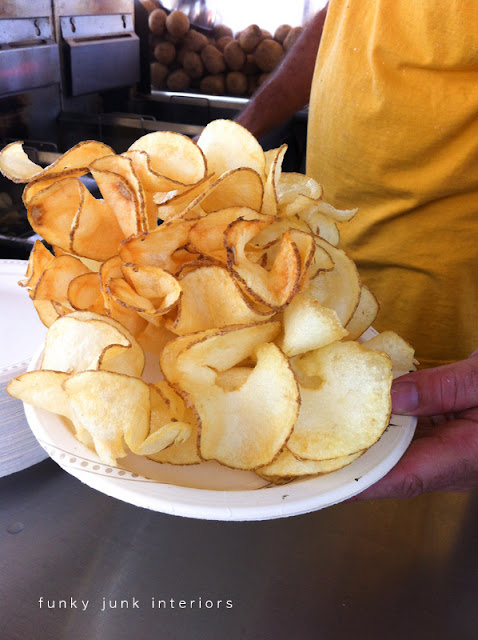 Wiggle Chips at the Abbotsford Airshow, via Funky Junk Interiors