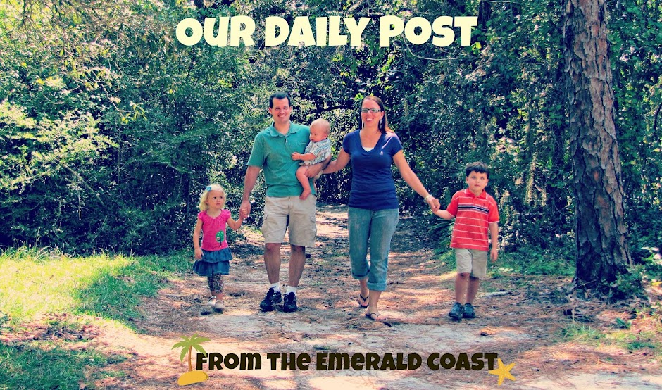 Our Daily Post from the Emerald Coast