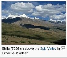 Himalaya India in Winter