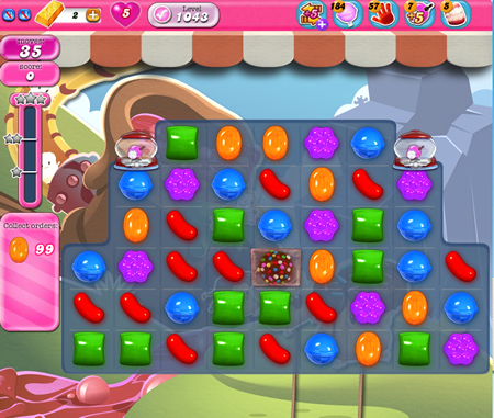 Candy Crush Saga 1043