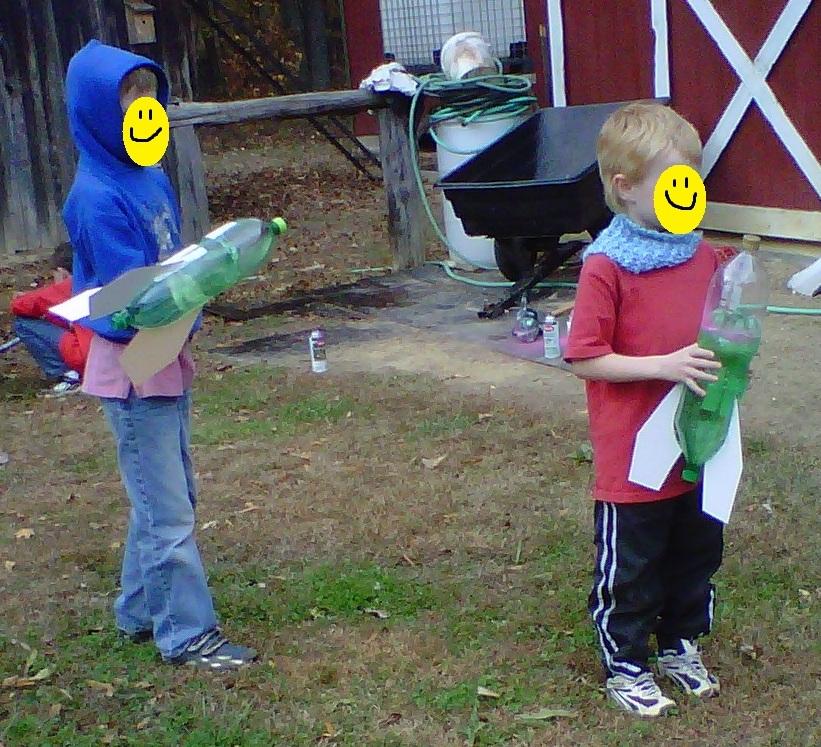 Water Bottle Rocket Ideas: Ripliancum Academy: Water Bottle Rockets