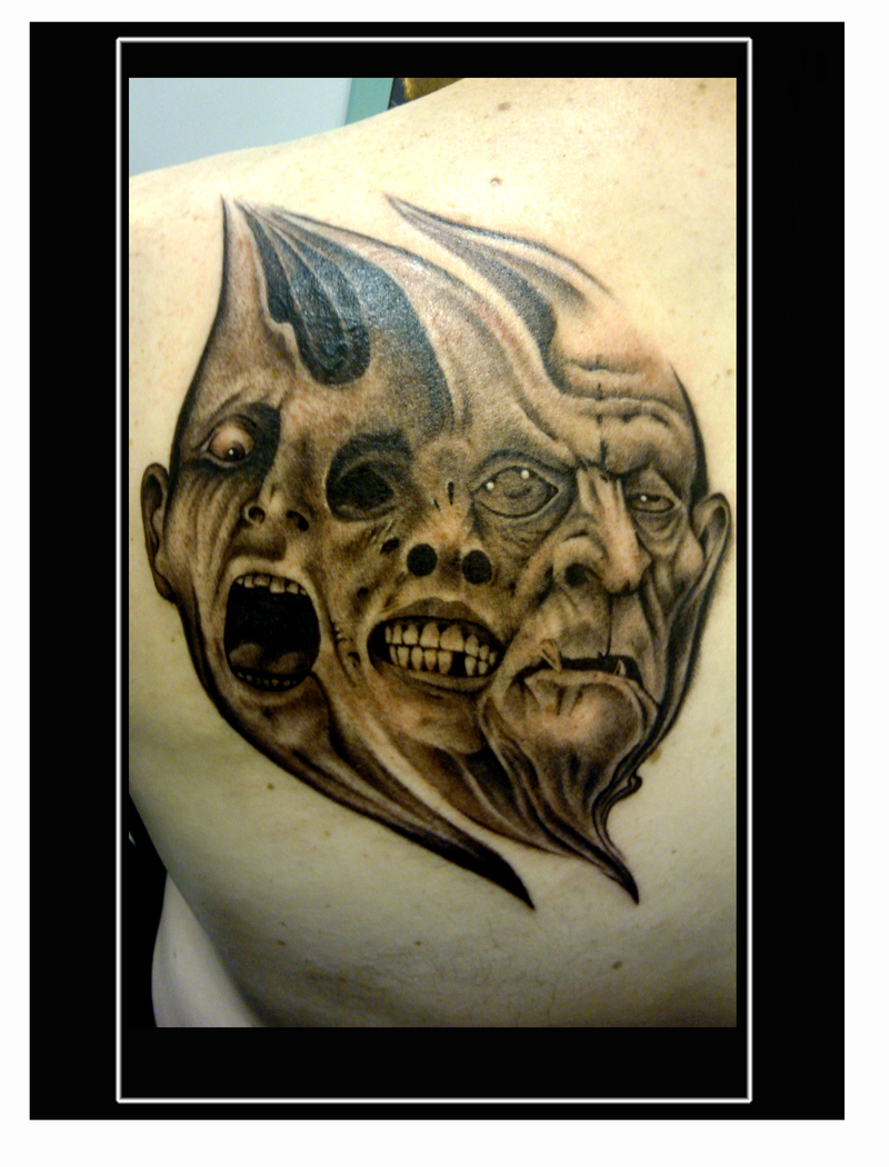 skull sleeve tattoo ideas for