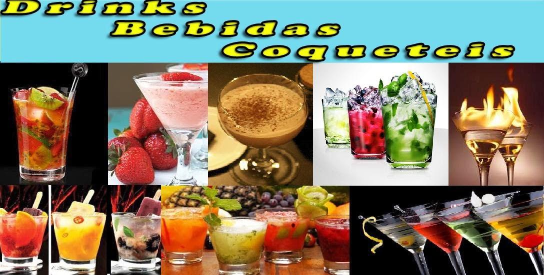 Drinks, Bebidas e Coqueteis