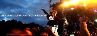Couverture facebook 30 seconds to mars