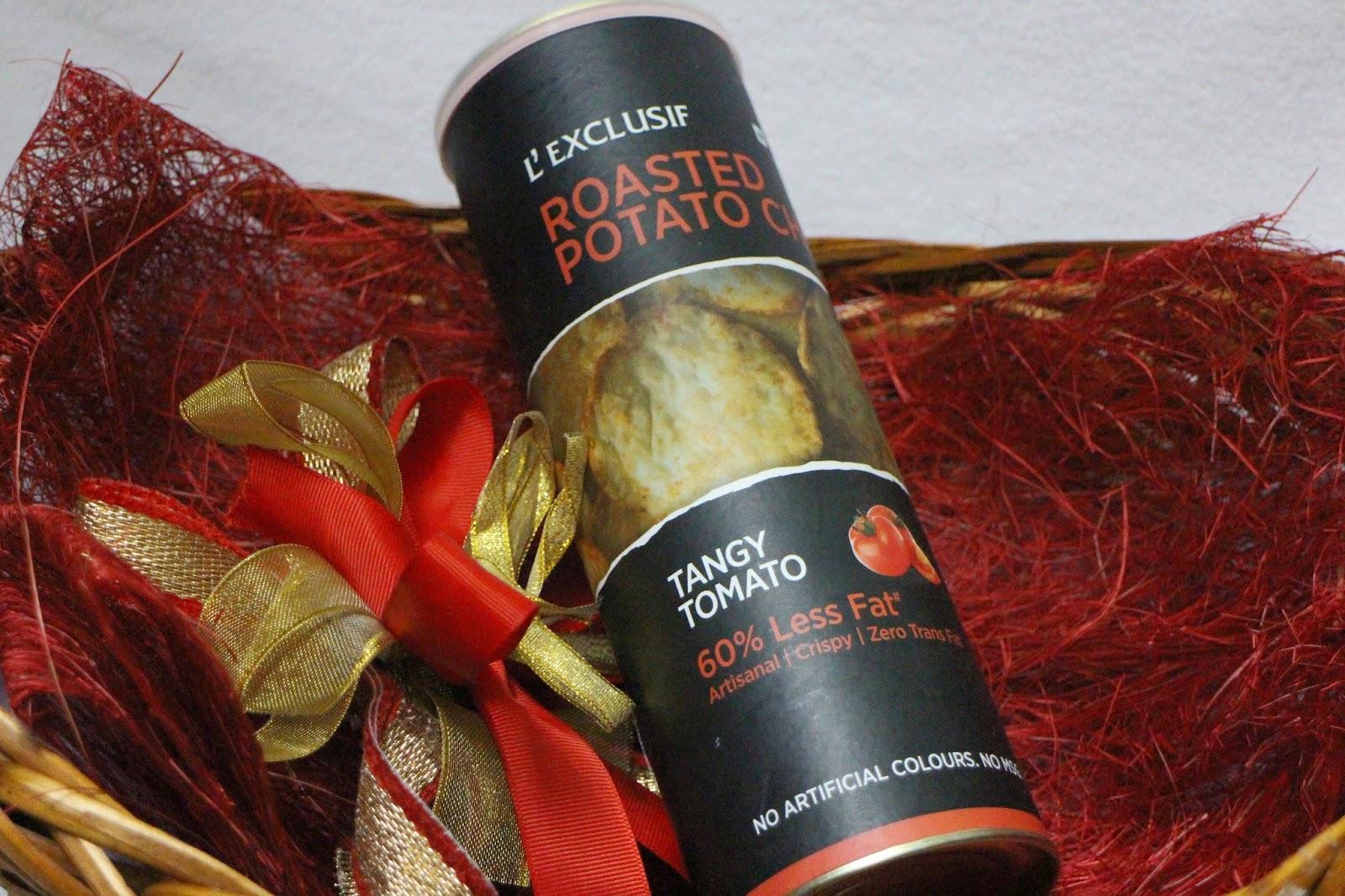 Godrej Nature's Basket, L'Exclusif, Roasted Potato Chips, Food