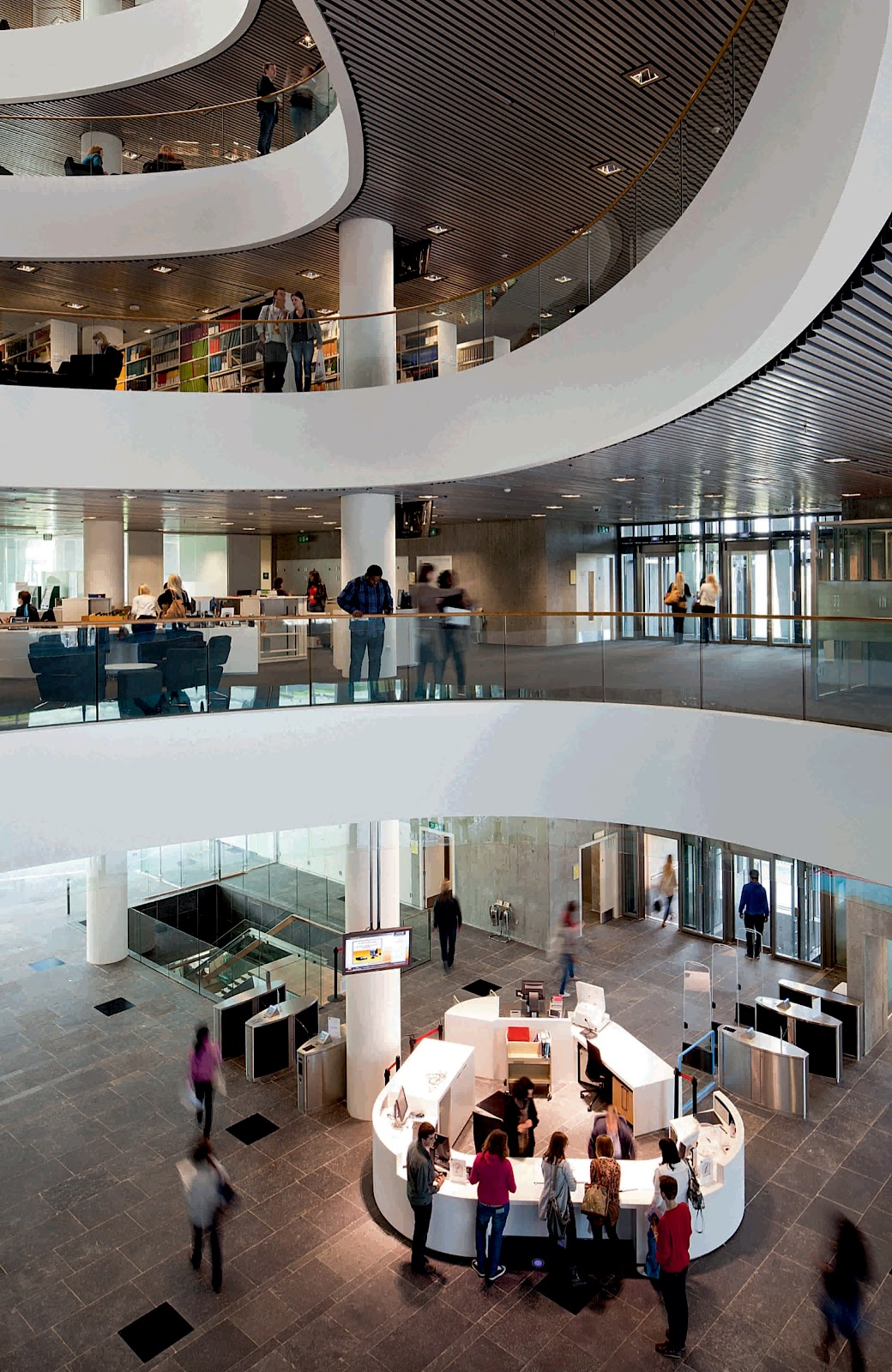 University Of Aberdeen New Library By Shl Architects A