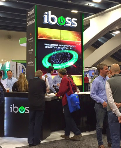 iboss Cybersecurity Booth at RSA 2015