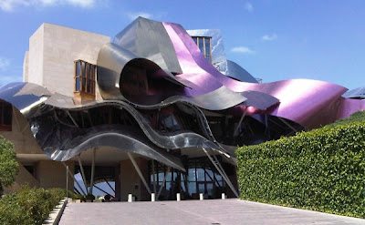 The 6 Astonishing Hotels of the World Hotel Marques de Riscal Elriego Spain