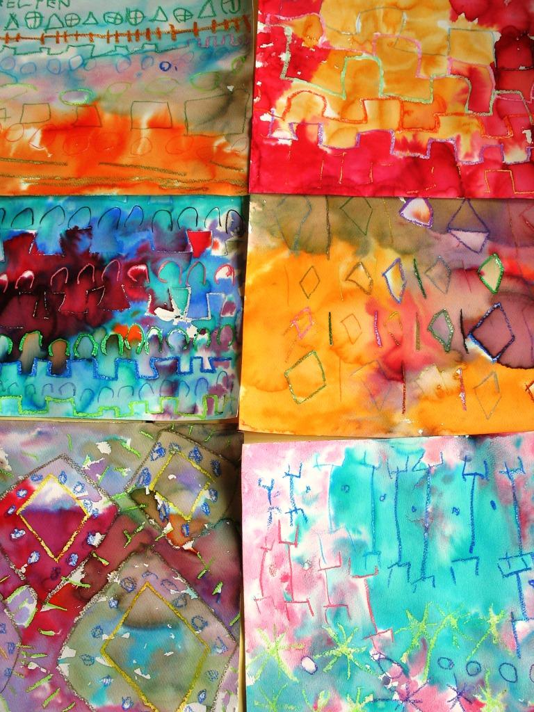 Papier Peint Motifs Imitation matériaux 4 Murs