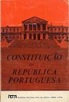 25-CONSTITUIÇÃO DA REPÚBLICA PORTUGUESA - 1976