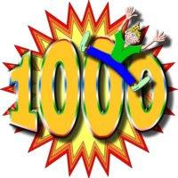 CHEGAMOS A 1000