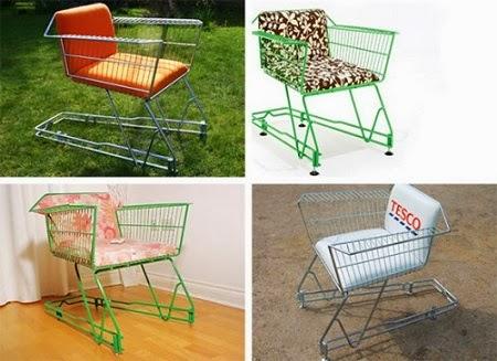 Sillas Recicladas, Ideas Ecoresponsables para Amoblar tu Casa