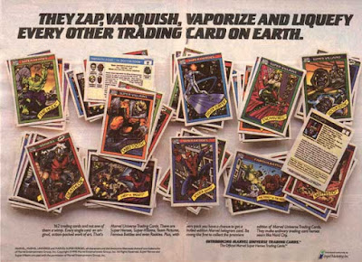 Marvel Series 1 Cards 1990 ad