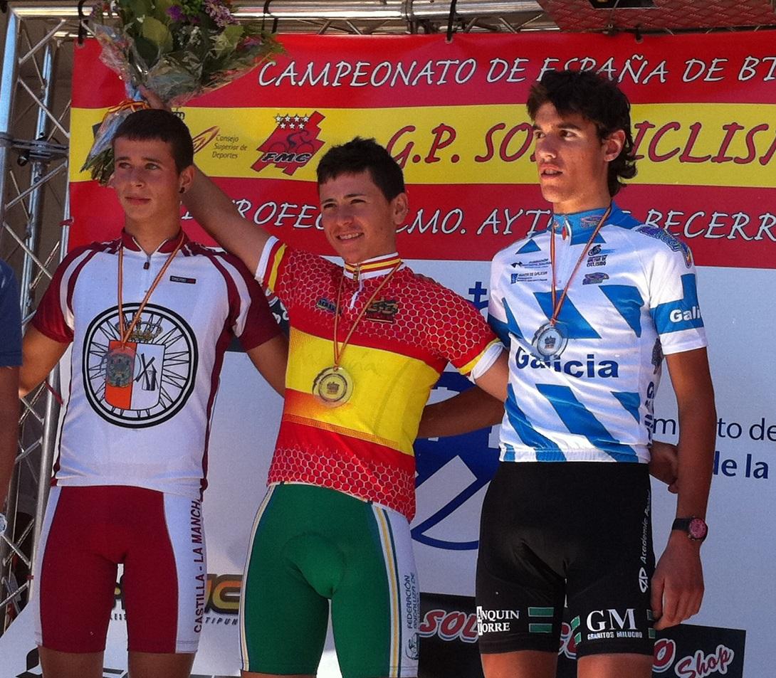 CAMPIONATO DE ESPAÑA BTT XC 2011 BECERRIL