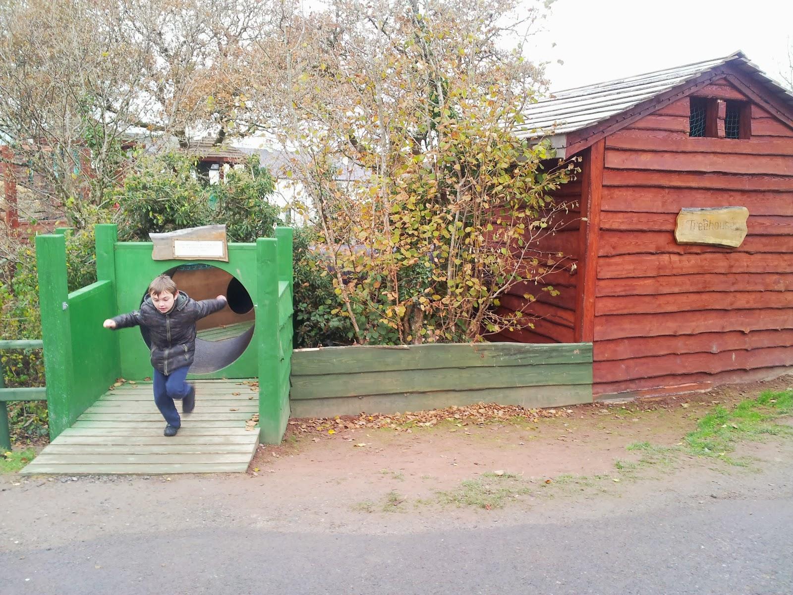 Outdoor PLay Area Bluestone Wales
