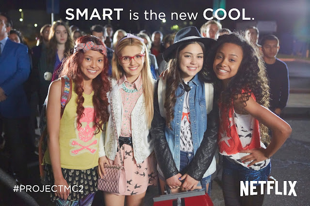 Smart is the New Cool #ProjectMC2 @Netflix Original series #streamteam