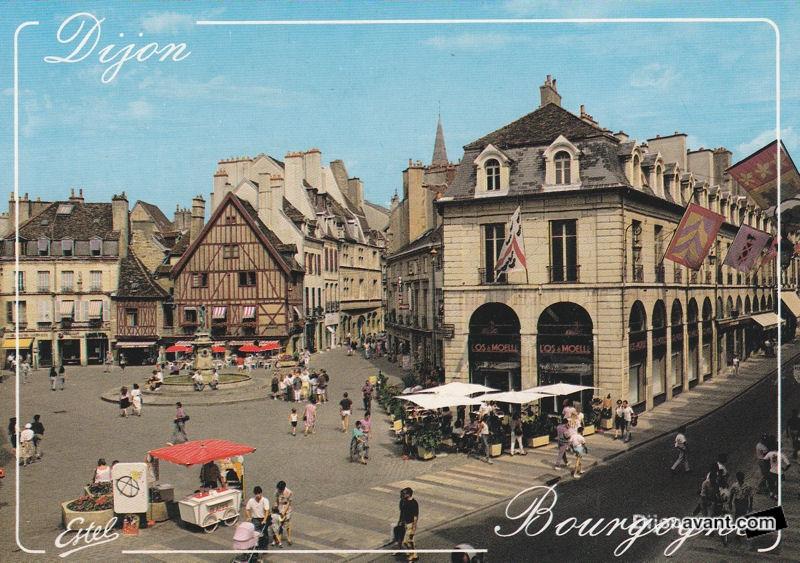 Dijon avant com dijon place fran ois rude 2 4 - Clermont ferrand dijon ...