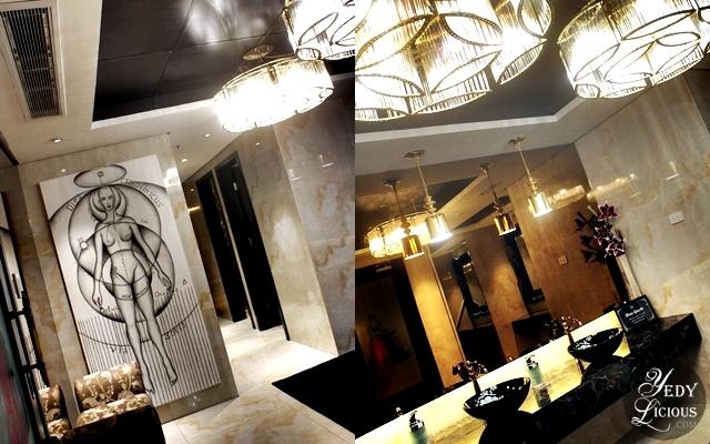 Elegant Powder Room at NIU