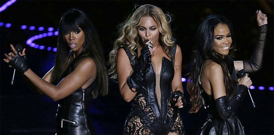 Destinys Child Superbowl 2013